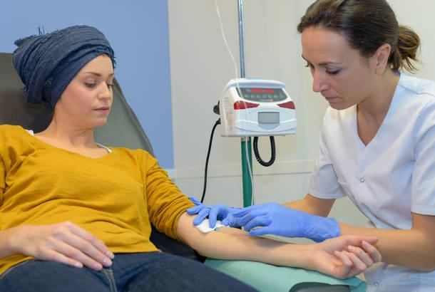 Процесс химеотерапии