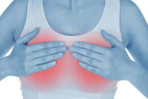 Причины зуда под грудными железами и сосковой зоны у женщин