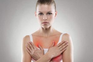 Что это может быть: дискомфорт в груди жжение и на груди соски опухшие?