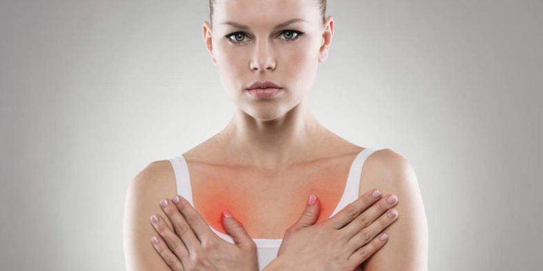 Возможные причины жжения в молочной железе