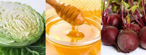Капуста, мед и свекла